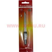 Пилочка для ногтей Royal Rose (8105) с пластиковой ручкой, цена за 24 шт