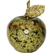 Яблоко из змеевика 6,5х5 см