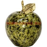 Яблоко из змеевика 7х6 см