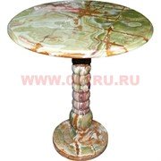 Столик из оникса 24 дюйма 60 см диаметр столешницы 60 см высота