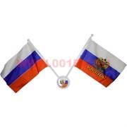 Флаг РФ 7,5х11,5 см на присоске в машину 12 шт/уп