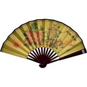 Веер 26х47 см бамбук, шелк, бумага (RA-V-92) цена за 600 шт