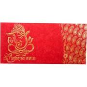 Конверт денежный «Ганеша» красный 10 шт