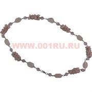 Бусы из розового кварца 70 см оптом (россыпь+камень)