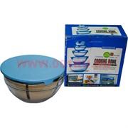 Набор посуды стеклянной 5 шт для готовки и хранения (СВЧ-печь)