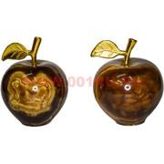 Яблоко 6 шт из черного оникса 2 дюйма (цена за 6 шт)