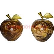 Яблоко из черного оникса 3 дюйма 8,5 см