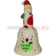 Колокольчик из фарфора новогодний (1651) 12,5 см 144 шт/кор
