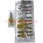 """Зажим для волос """"Цветок"""" (AL-187) цена за упаковку 12 шт"""