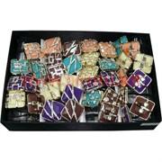 Резинки с декоративными камнями (AL-180) цена за упаковку 12 шт