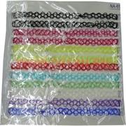 Тесьма для греческой прически (AN-65) микс цветов цена за упаковку 12 листов
