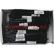 Шпильки черные (SDR-3) 3 размер 80 мм цена упаковку 500 шт