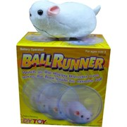 Мышь в шарике бегающая (24шт\кор)