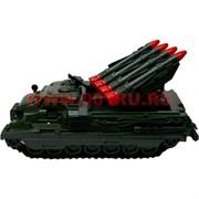 Танк БТР с ракетами