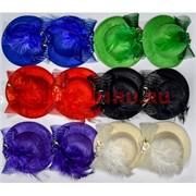 """Зажим для волос """"шляпа"""" (AL-250) цена за 12 шт"""