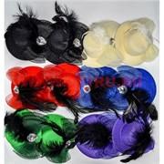 """Зажим для волос """"шляпа"""" (AL-251) цена за 12 шт"""