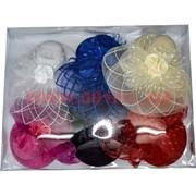 """Зажим для волос """"шляпа"""" (AL-253) цена за 12 шт"""