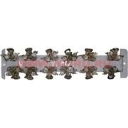 Крабики металл (KG-78D) цена за 12 шт