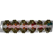 Крабики маленькие металл (ALT-145) цена за 12 шт (с камешками)