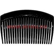 Гребень для волос черный (AL-112) цена за 24 шт