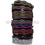 Гребешок для волос (MP-3207) цена за 20 шт (извилистый)
