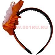 Ободок для волос с цветком (669) цена за упаковку 12 шт
