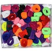 Резинки для волос (SRZ-530) разноцветные, цена за 1000 шт (10 уп)