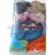 Ободок для волос с цветком (A-293) цена за упаковку 12 шт