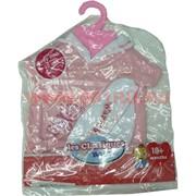 Одежда для пупсик розовая