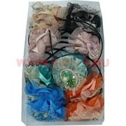 Ободок для волос с цветком (A-287) цена за упаковку 12 шт