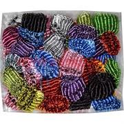 Резинки для волос (RZ-1037) разновцветные, цена за 200 шт (4 уп)