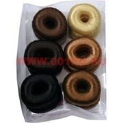 Бублик для волос гладкий (SK-52) 1 размер цена за упаковку 12 шт