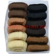 Бублик для волос гладкий (SK-54) 3 размер цена за упаковку 12 шт