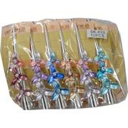 """Зажим для волос (SK-833) """"Цветок"""" цена за упаковку 12 шт"""