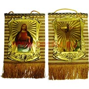 Панно на стену христианское (HN-1032) бамбук 26х20 см (размер без бахромы) 5 видов