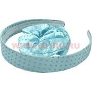 Набор ободок и резинка для волос 6 цветов цена за упаковку 12 шт