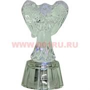 Ангелочек с подсветкой 7,4 см стеклянный