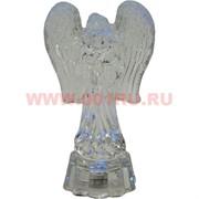 Ангелочек с подсветкой 12,5 см стеклянный