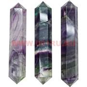 Карандаш из флюорита двухсторонний 10-12 см