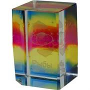 """Кристалл """"Зодиак"""" цветной (HN-559) 6 см, цена за 12 шт"""