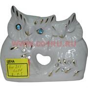Совы пара из фарфора (JV-351) 10 см, 60 шт/кор