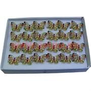 Кольца (G14) бабочка цена за упаковку из 24шт