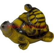 Черепаха двойная полистоун (HN-621) большая 9х13 см (48 шт/кор)
