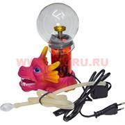 Бонг электрический (вапорайзер) с фигурами головами