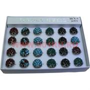 Кольца (K-6) под натуральные камни цена за упаковку из 24шт