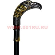 """Трость """"орел"""" 90 см с металлической рукоятью и стилетом внутри трости"""