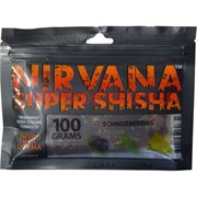 Табак для кальяна Nirvana Super Shicha 100 гр «Schnozberries» щзноззберри