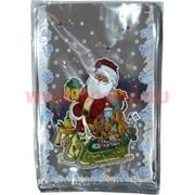 Пакет подарочный новогодний 20х30 см, цена за 100 шт