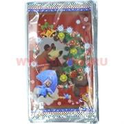 Пакет подарочный новогодний 25х40 см, цена за 100 шт