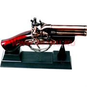Зажигалка-мушкет малый (два ствола)